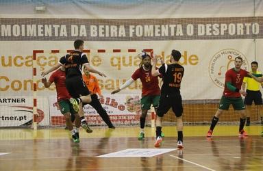 Fase do jogo Portugal-Holanda (particular) - Moimenta Beira - 07.04.2016