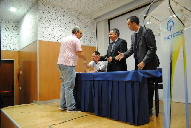 Tomada de Posse da Associação de Andebol de Castelo Branco - Vice-Presidente Administrativo Ildeu Correia