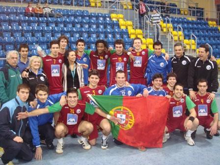 Selecção Nacional Junior A masculina - qualificação na Polónia