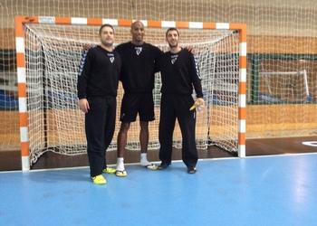 Seleção Nacional na Hungria - Três guarda-redes - Outubro 2014
