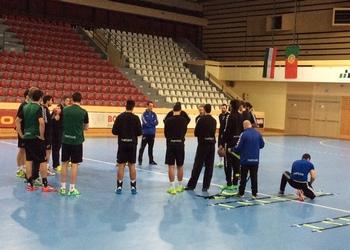 Seleção Nacional na Hungria - Treino 1 - Outubro 2014