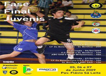 Cartaz Fase Final Campeonato Nacional Juvenis Masculinos - 5 a 7.06.09, Braga