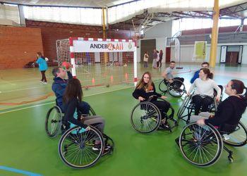 Andebol 4 All - acção de sensibilização do Comité Paralímpico de Portugal