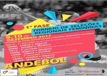 Torneio de Seleções Regionais de Iniciadas Femininas - 1ª Fase - Lagoa