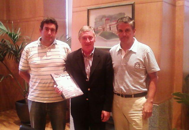 Ulisses Pereira em Vila Real para reunião de trabalho