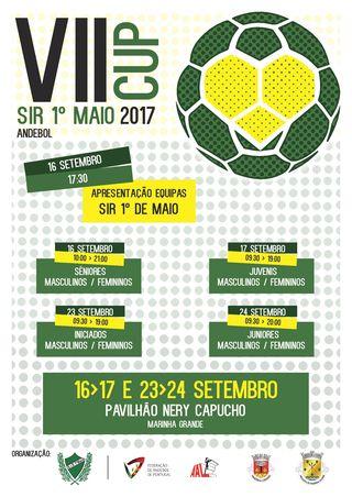 Cartaz VII Torneio SIR 1º Maio Cup 2017