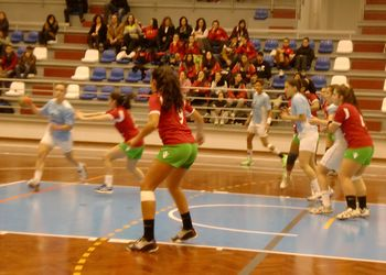 Selecção Nacional Juniores B femininas : Alpendorada - Torneio Kakygaia - foto: Cid Ramos