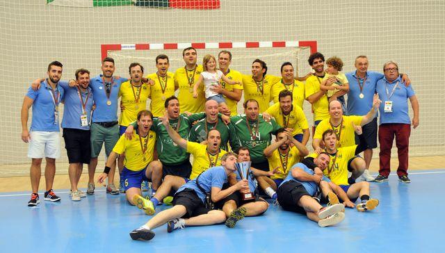 CD Xico Andebol/Clássicos Guimarães - campeões nacionais veteranos masculinos