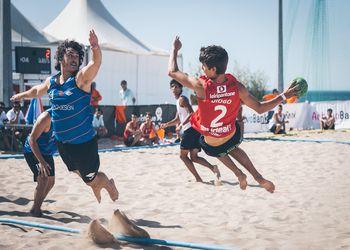 Fase Final do Circuito Nacional de Andebol de Praia ActivoBank - Dia 2 - foto: Márcio Menino