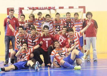 Sporting C. Horta - campeão nacional Juvenis Masculinos 2ª Divisão