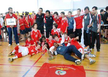 """SL Benfica """"A"""" - vencedor Encontro Nacional Infantis Masculinos"""