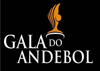 Logo Gala do Andebol - fundo preto