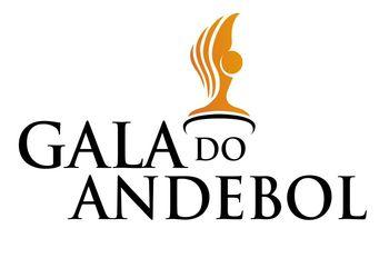 Logo Gala do Andebol - fundo branco