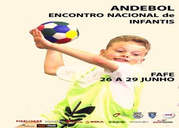 Cartaz Encontro Nacional Infantis Masculinos - Fafe, 26 a 29.06.14