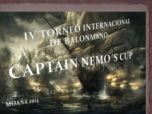 Cartaz Captain Nemo´s Cup 2014