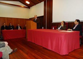 Ulisses Pereira na tomada de posse dos órgãos sociais da Associação Andebol Porto
