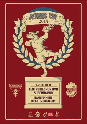 Cartaz Torneio BERNAS CUP 2014