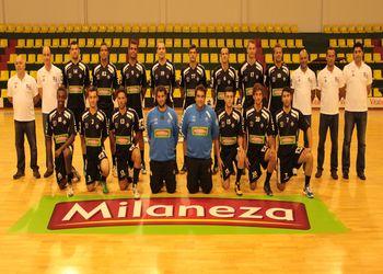 Plantel Águas Santas - Milaneza 2012-13
