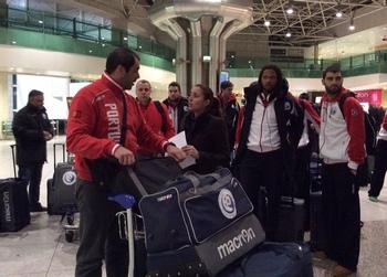 Partida de Lisboa da seleção nacional sénior - 30.12.2013