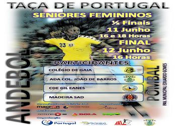 Cartaz Final Four Taça de Portugal Seniores Femininos