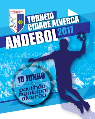 Cartaz Torneio Cidade de Alverca 2017