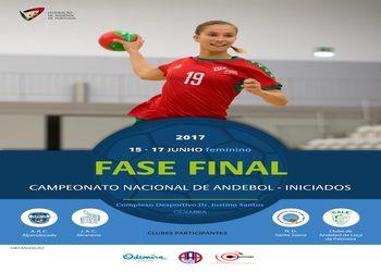 Cartaz Fase Final Campeonato Nacional Iniciados Femininos 2017