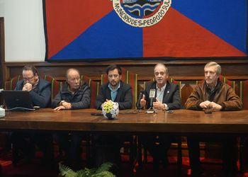 Conferência de imprensa de apresentação do Torneio Internacional Santa Cruz da Trapa