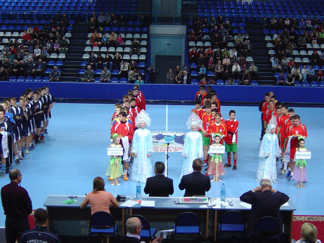 Cerimónia Abertura Torneio Internacional da Província de Moscovo