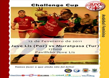 Cartaz Juvelis - Muratpasa Belediyesi SK - 1/8 final Taça Challenge