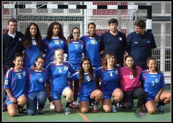 NAAL Passos Manuel - seniores femininos 2013-14