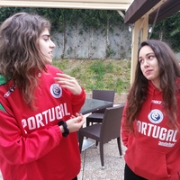 Sandra Santiago e Patrícia Rodrigues