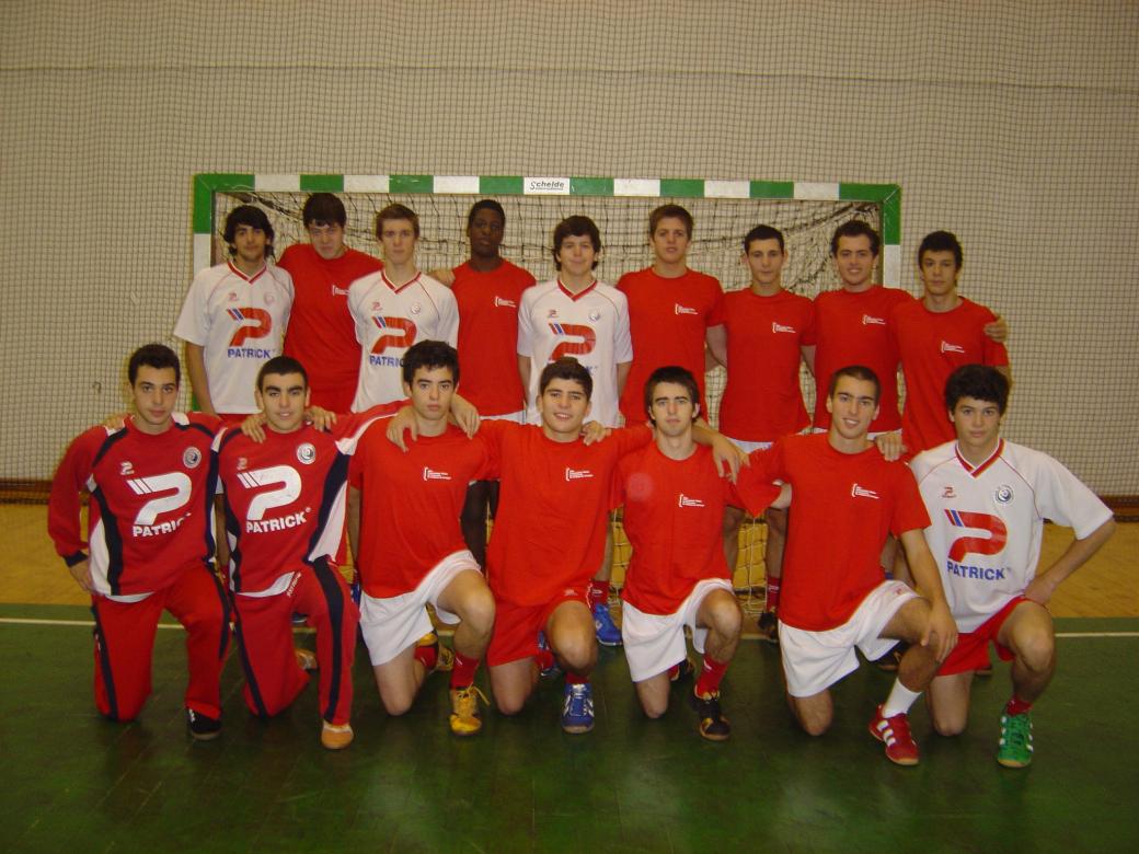 Selecção Junior B Masculina 2007/2008