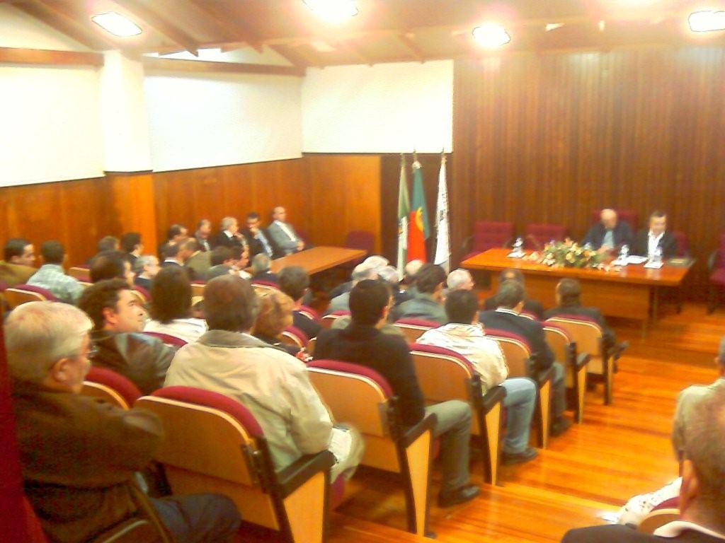 Tomada de Posse Órgãos Sociais A. A. Porto - 23.10.2007