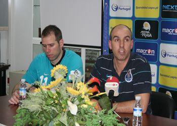 AM Madeira Andebol Sad : FC Porto - meia-final da Taça de Portugal - conferência de imprensa