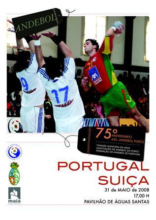Portugal : Suíça - 31.05.2008, Porto