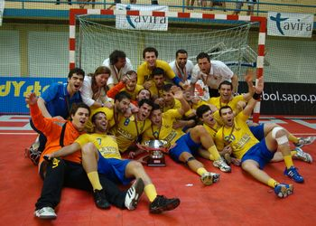 CD Xico Andebol - vencedor da Taça de Portugal 2009/10