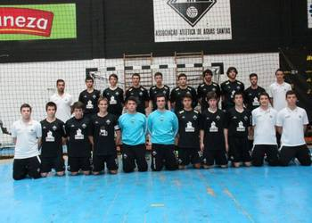 AA Aguas Santas - campeão ancional Juvenis - 2013-14