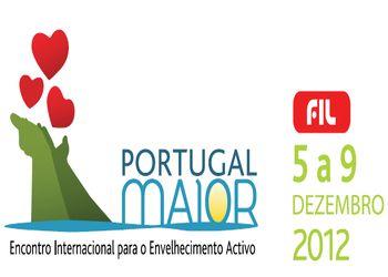 Logo PORTUGAL MAIOR - Encontro Internacional para o Envelhecimento Activo