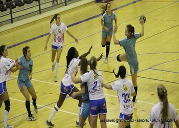 JAC-Alcanena : Maiastars - Campeonato 1ª Divisão Feminina - foto: Luís Neves