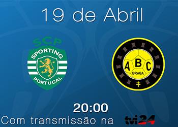 Banner Sporting CP : ABC/UMinho - 19.04.17