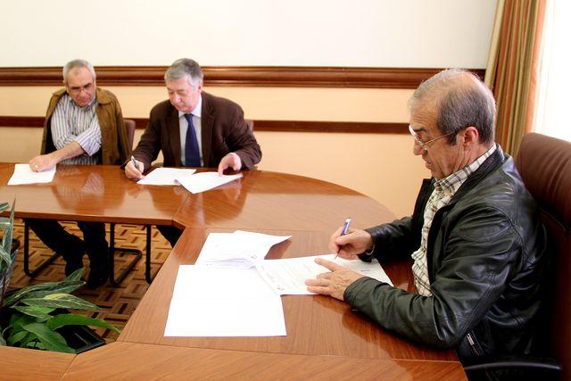 Assinatura de protocolo FAP - CM Olhão - 15.04.13