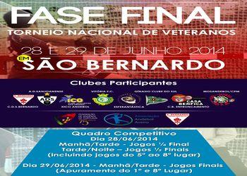 Cartaz Torneio Nacional Veteranos 2013-14