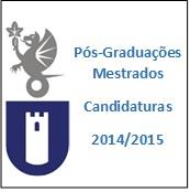 Candidatura a Mestrados na Escola Superior de Educação de Castelo Branco - 2014/2015