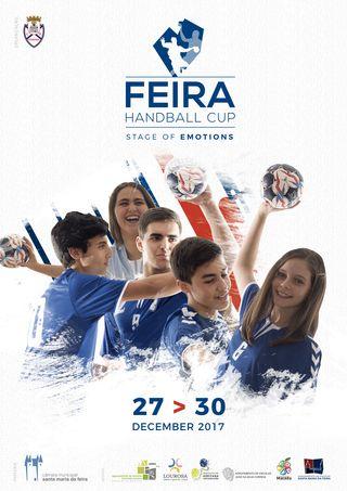 Cartaz Feira Handball Cup 2017