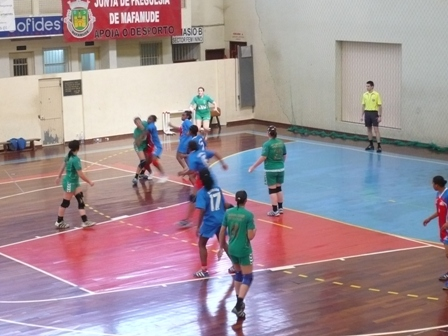 Assomada : Col. João Barros - 3º/4º lugar da Fase Final B Campeonato Nacional Juniores Femininos 1