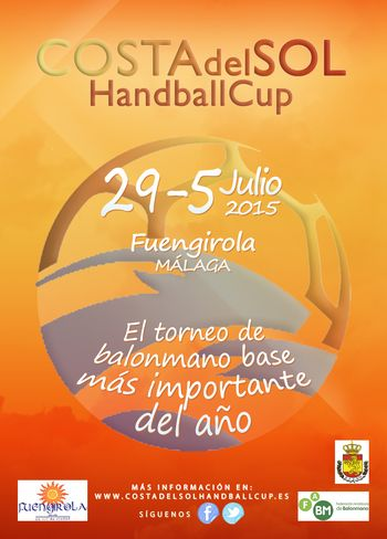 Cartaz Costa del Sol Handball Cup 2015