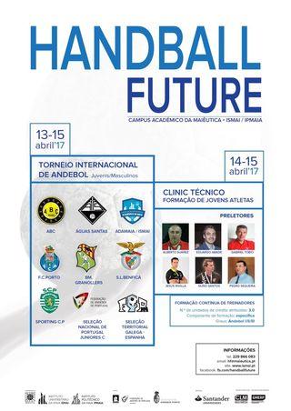 Cartaz Handball Future – Clinic Técnico