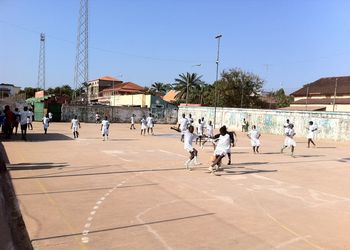 Rolando Freitas no Curso de Formação de Treinadores na Guiné Bissau