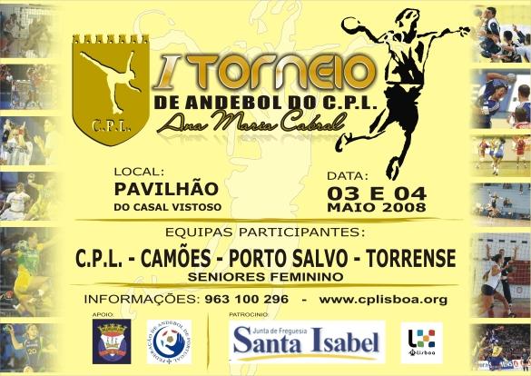 Cartaz do Torneio do CPL