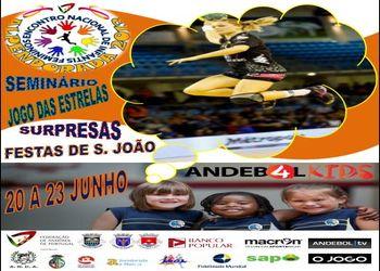 Cartaz Encontro Nacional Infantis Femininos - Alpendorada, 20 a 23 Junho 2013
